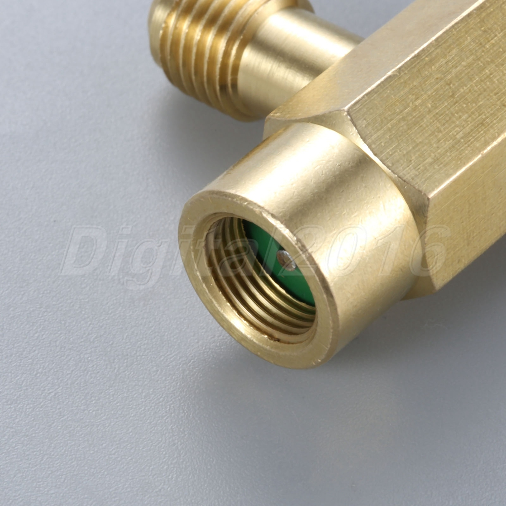 Details about 1Pc Brass R12 R22 R134a Can Tap Dispenser Self-Sealing  Refrigerant Bottle Opener